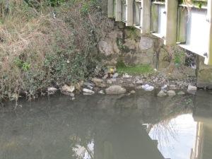 Footbridge / Rubbish