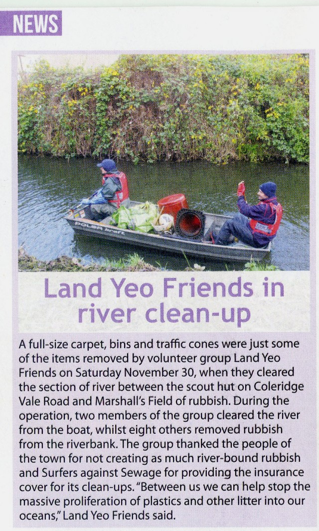 River clean nov 2019 press
